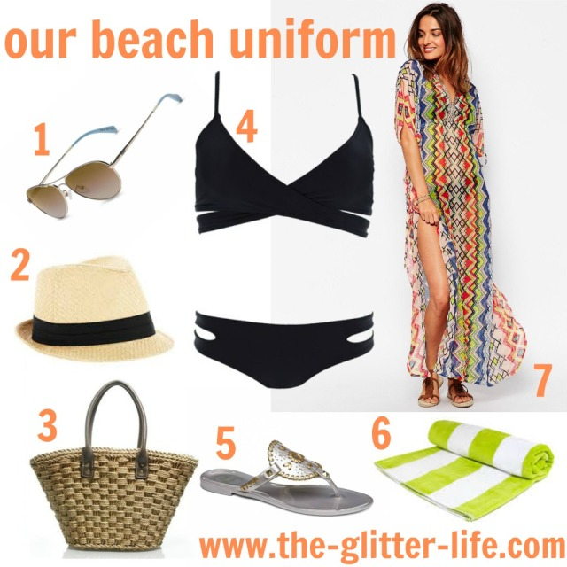 Our Beach Uniform The Glitter Life