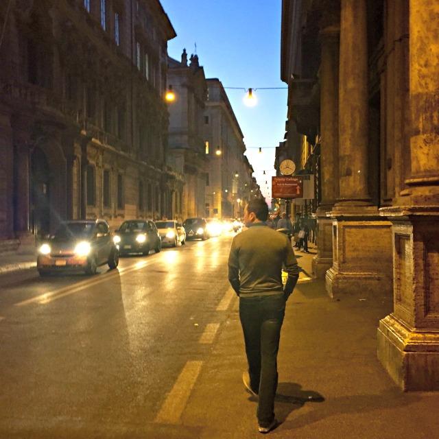 Rome night