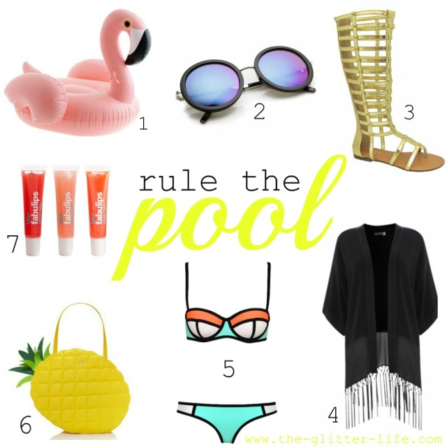 The Glitter Life Pool Essentials