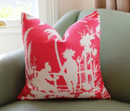 Thibaut South China Seas Pillow