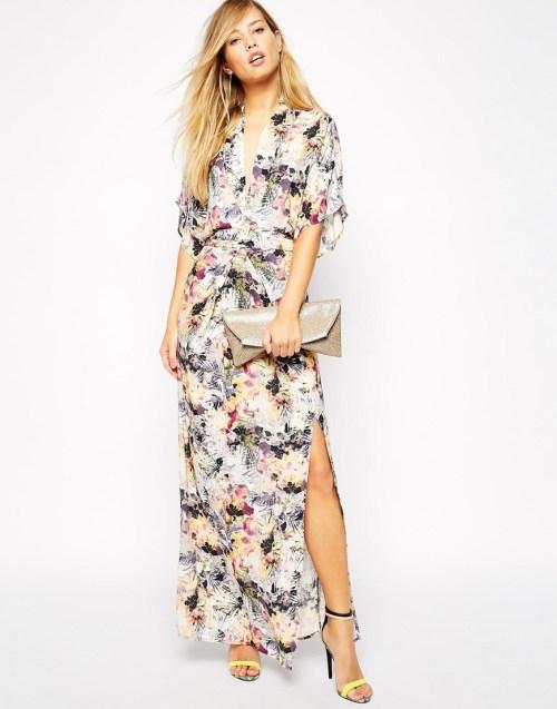 ASOS Supertrash Floral Maxi Dress