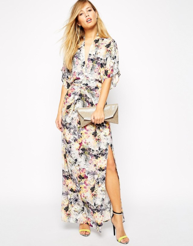 ASOS Supertrash Floral Maxi Dress