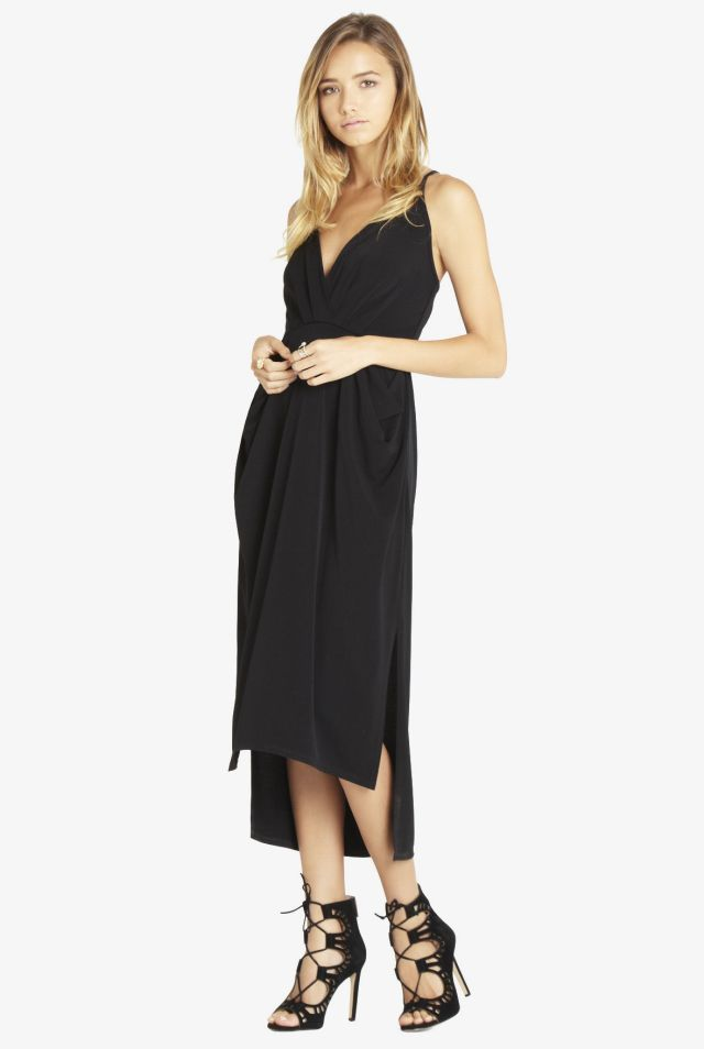 Shop Dish BCBGeneration Faux Wrap Midi Dress