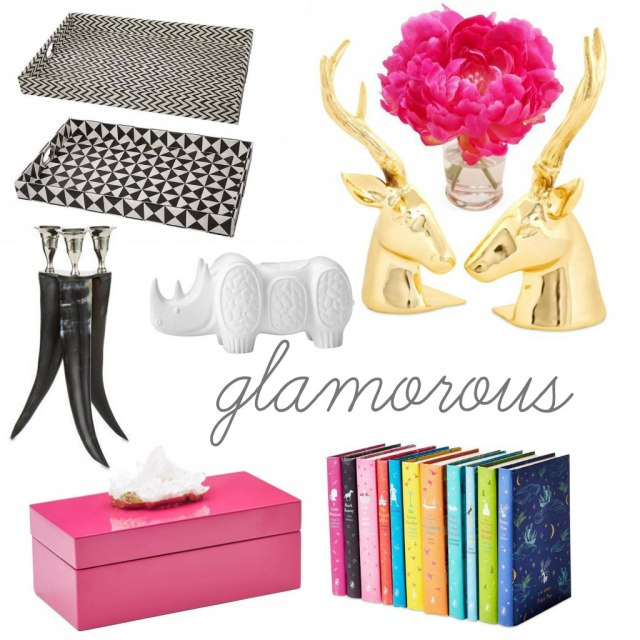 The Glitter Life Shelf Styling Glamorous
