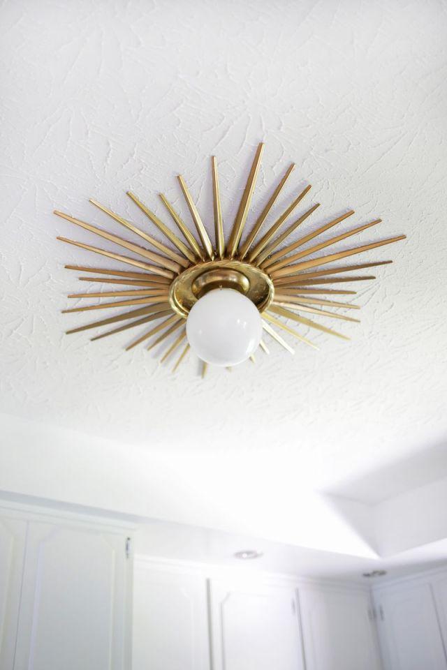 Sunburst Light Fixture