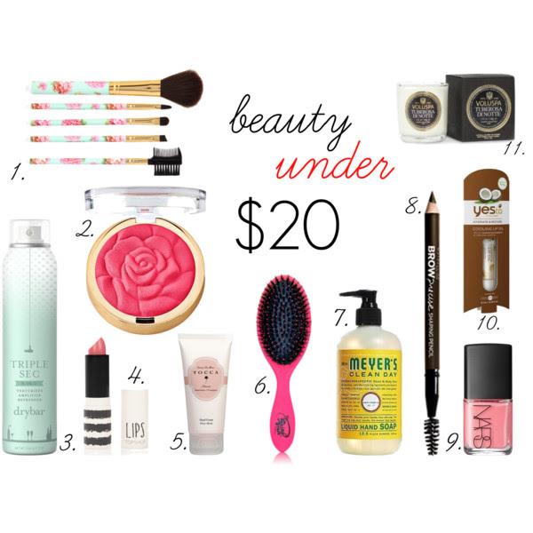 TGL Beauty Under $20