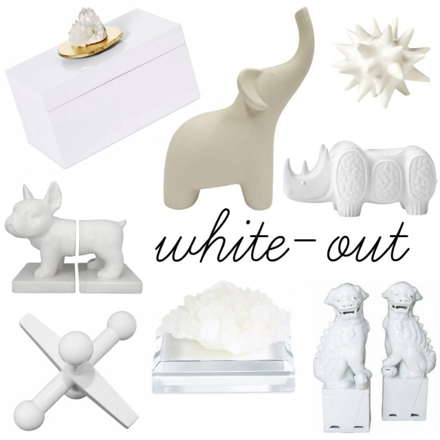 White Out Collage