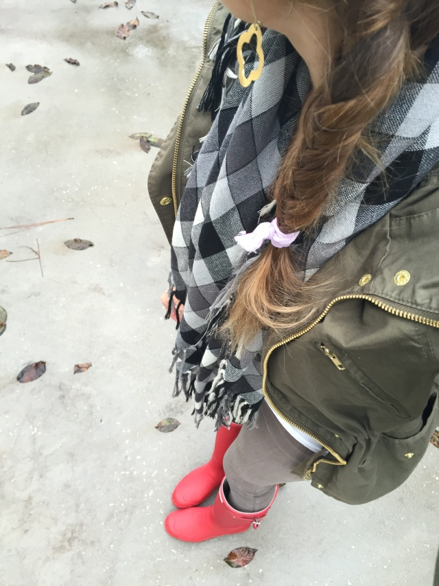L's Rainy Day Style