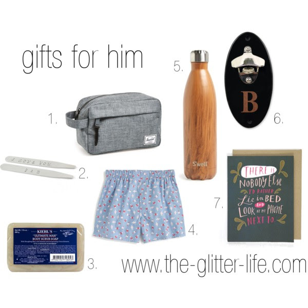 The Glitter Life Mens Gift Guide