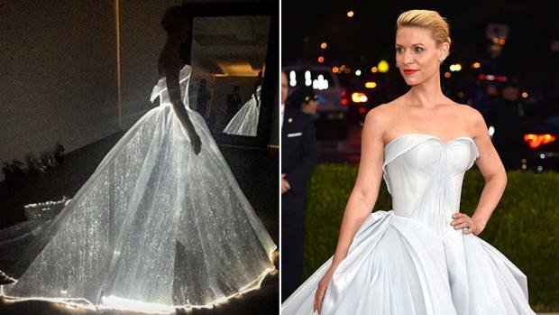 MET claire-danes-light-up-dress